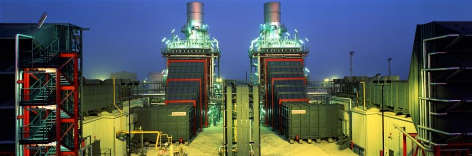 Marghera (Italy) - Edison Turbogas Power Plant